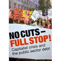 No cuts – full stop! Capitalist crisis and the public sector debt